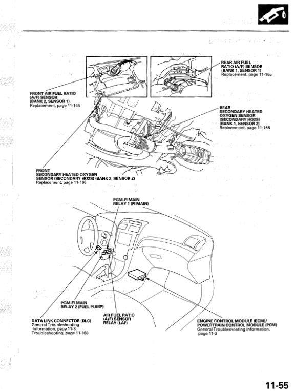 Image Result For Honda Ridgeline O Sensor Location