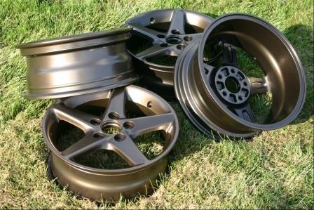 Powdercoated My Stock Wheels Acura Forum Acura Forums - Acura stock rims