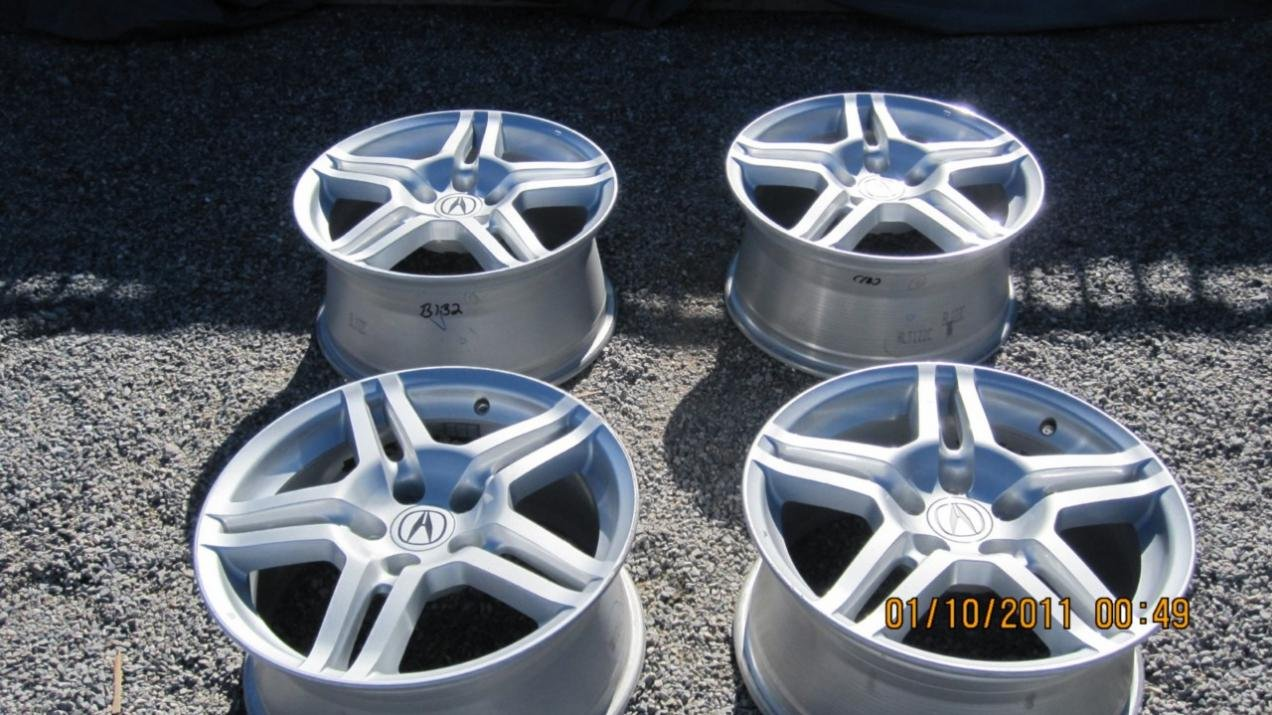 FS Acura TL OEM Wheels In Great Condition Acura Forum - Acura tl oem wheels