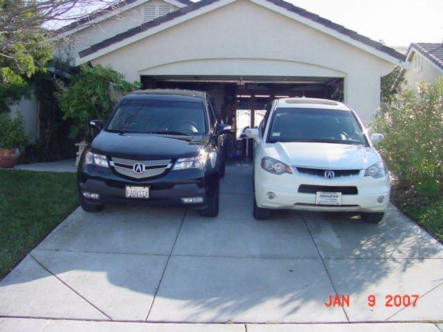 Acura RDX vs MDX