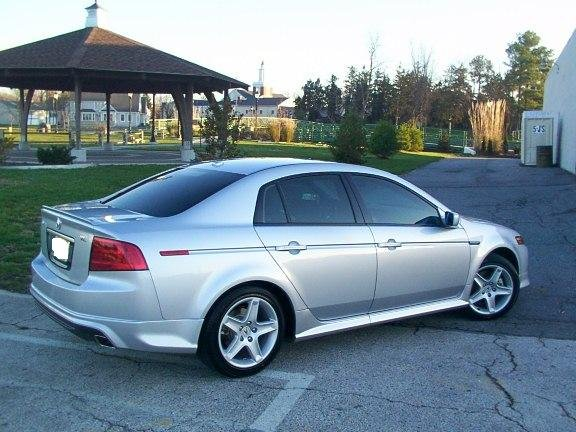 Satin Silver Metallic Pictures of My 04 Acura TL - Acura Forum ...