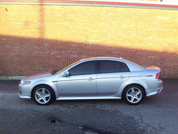 Acura Tl Silver - 2004 acura tl body kit