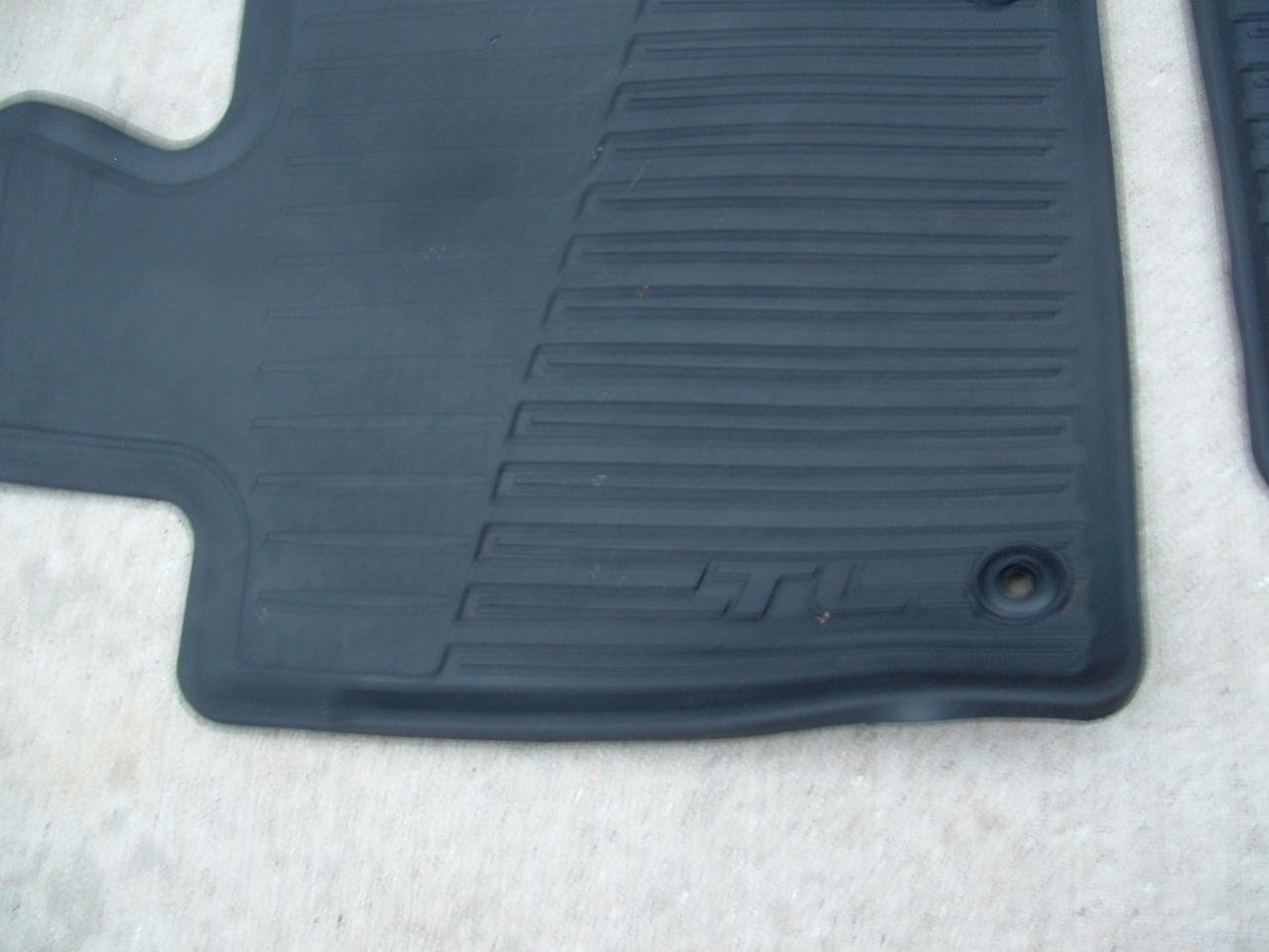 FS OEM All Season Floor Mats For Acura TL SHAWD Acura Forum - 2006 acura tl floor mats