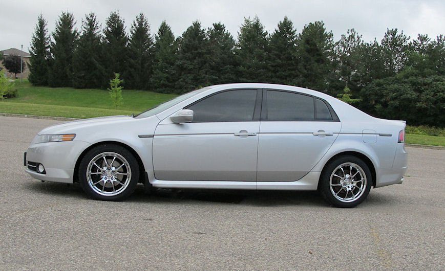 2003 Acura Tl Type S White. Steel rim for Acura TL TYPE-S