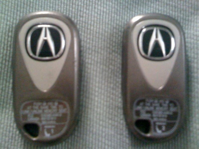 ACURA TL KEYLESS ENTRY KEY FOBS Acura Forum Acura Forums - Acura tl key fob