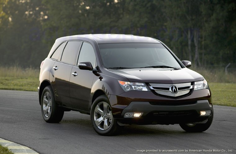 2007 Acura Mdx. redesigned for 2007 MDX.