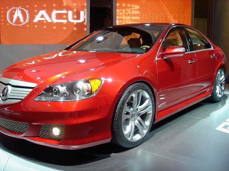 awesome 2005 acura rl with aspec performance package ornament