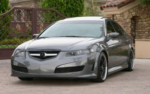 Who Owns The TL With This Ground Effects Kit Acura Forum Acura - 2004 acura tl upgrades