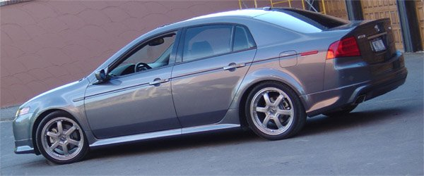 Pics Of My New Ride TL Acura Forum Acura Forums - 2004 acura tl body kit