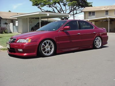 Pic Of TL Lowed With Body Kits Acura Forum Acura Forums - 99 acura tl front lip