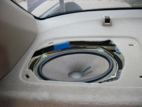 DIY Rear Deck Speaker Replacement Acura Forum Acura Forums - Acura tsx speaker replacement