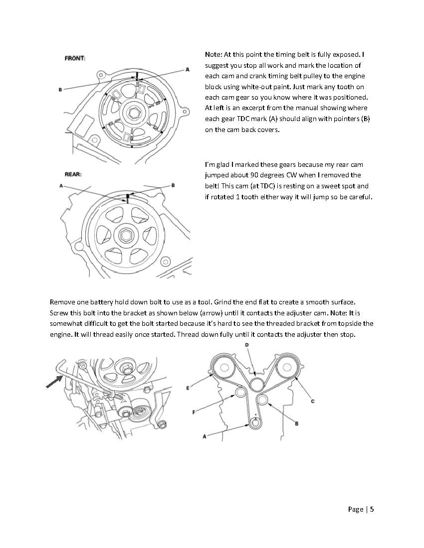 Acura Tl Timing Belt Wiring Diagrams - Timing belt acura tl