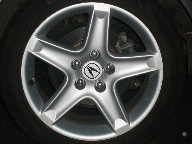 ALY71796 Acura TL Wheel Dark Chrome #08W18TK4200