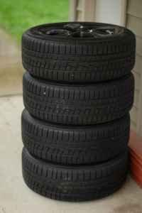 Acura RL And Acura TL Wheels W High Performance Snow Tires Acura - Tires acura tl