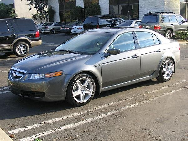 Eibach Coils Installed On This TL Acura Forum Acura Forums - 2005 acura tl lowering springs