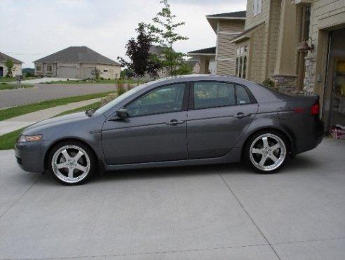 JAZ Trinity Wheels On G TL Acura Forum Acura Forums - Acura tl 19 oem wheels