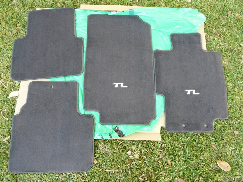 FS Brand NEW OEM Floor Mats For Acura TL Never Used Acura Forum - Acura floor mats