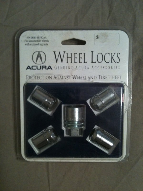 FS OEM Wheel Lock Sets NEW Factory Honda Acura Acura Forum Acura - Acura wheel lock key