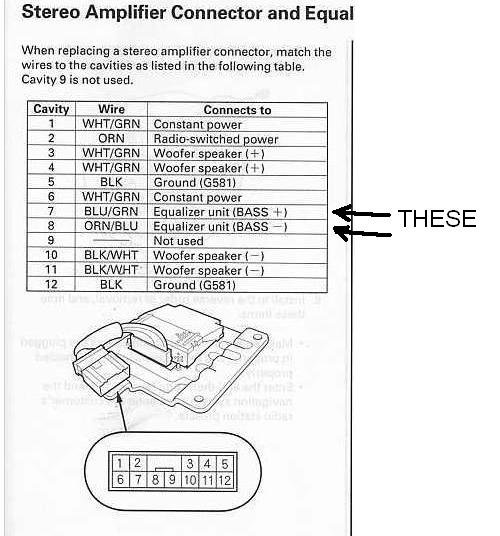 acura rsx bose amplifier wiring diagram wires to bose amp - acura forum : acura forums #11
